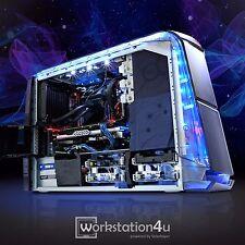 Dell Alienware Aurora R4 Gaming PC Core i7 3820 32GB RAM 525GB SSD GTX 1070 W7