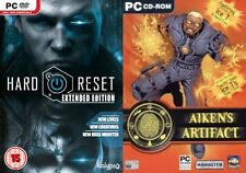 hard reset extended edition & aikens artifact   new&sealed