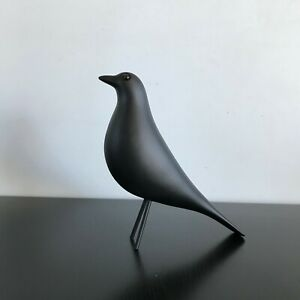 Mid Century Living Room House Bird Figurine Ornamental Art Décor (Black, White)