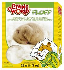 Hagen Living World Hamster Fluff 1 oz Bedding Nesting