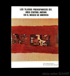 BOOK Pre-Columbian Textiles Central Andes Peru tapestry weaving ancient art bird