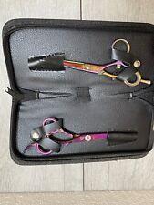 Washi Scissor Professional Golden Rose Swivel 5.5 & Jewel 5