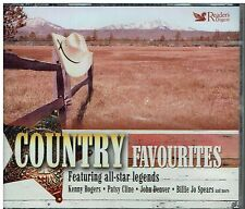 COUNTRY FAVOURITES - 63 CLASSIC ORIGINALS - SUPER 3CD BOXSET FREE POST IN UK