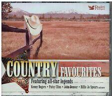 COUNTRY FAVOURITES - 63 CLASSIC ORIGINALS - SUPER 3CD BOXSET FREE POST IN UK