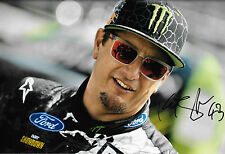 Ken Block SIGNED,12x8  2012 Portrait Rally X Games Rallycross Driver