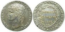 Napoli - Gioacchino Napoleone - Dodici Carlini 1810 Ag - RARA Mir434/1