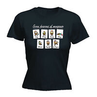 Seven Dwarves Of Menopause Forgetful Psycho WOMENS T-SHIRT funny birthday gift