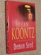 Dean Koontz SIGNED Demon Seed 1st Edn UKHC