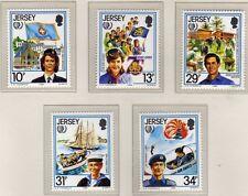 Jersey 1985 International Youth Year SG 360-364 MNH