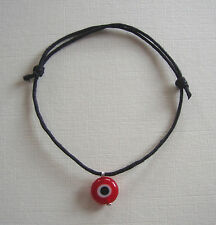 Black Evil Eye Friendship Bracelet - Great for festivals Be1
