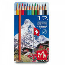 Caran D'ache Prismalo Aquarelle Colour Pencil - Assorted (Pack of 12)