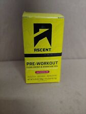 Ascent Pre-workout Clean Energy & Hydration Fuel 15ct(watermelon)exp11/201 9
