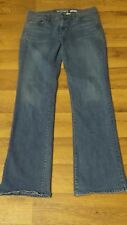 '05 *Old Navy* Women's 8 Low Waist Whisker Stretch Bling Pkts Boot Jeans 29x31½