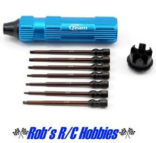 Team Associated asc1655 Factory Team Hex Driver Wrench Set Bits & Handle