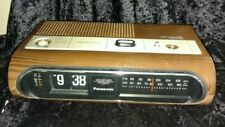 PANASONIC RC-6236 CLOCK RADIO FLIP CLOCK RADIO FOR PARTS VINTAGE 1970S