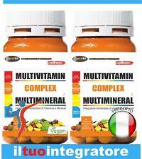 Multivitamínico Vitaminas y Minerales alto dosis 60 cpr 2 paquetes