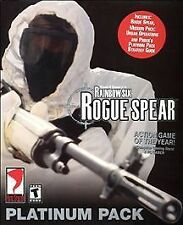 Tom Clancy's Rainbow Six: Rogue Spear -- Platinum Pack (PC, 2001)