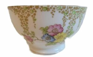 VINTAGE PORCELAIN OPEN SUGAR/CANDY DISH 'HEDGEGROW' Made in England