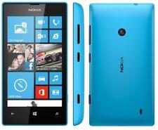 "New Nokia Lumia 435 Blue Dual Sim 4GB Windows 3G 1GB RAM 4"" Unlocked Smartphone"