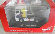 RARE Herpa HO 1/87 Silo Melmer MAN TGX XXL ZM Tractor Trailer Truck Cab NIP