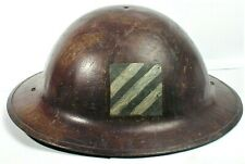 New listing  World War I (1914-1918) Doughboy Helmet with 3rd Division Painted Insignia