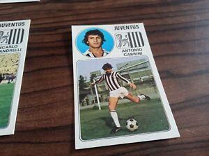 Album Figurine Calciatori Panini 1976 77 New Velina N 164 Cabrini Juventus