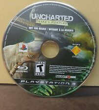 UNCHARTED DRAKE'S FORTUNE (PS3) USED AND REFURBISHED (DISC ONLY) #10917