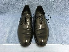 Johnston & Murphy ARISTOCRAFT Black Patent Leather Formal Shoes Mens Size 9 1/2B