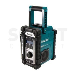 Makita DMR110 18V LXT DAB+ Digital Job Site Radio Blue