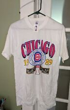 CHICAGO CUBS 1989 EASTERN DIVISION CHAMPIONS SHIRT LOGO L (42-44) New *