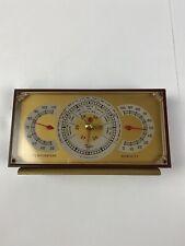 Vintage Desktop Taylor Instrument Companies Stormoguide Barometer Made In USA