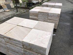 Terrassenplatten Marmor Cream Rosa Röm Verb Natursteinplatten 1qm