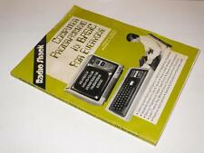 Radio Shack ~ Computer Programming in Basic ~ Softback Book ~ Tandy TRS-80