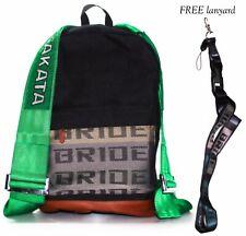 Bride Takata JDM backpack rucksack with FREE bride lanyard