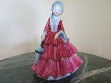 "Rare Vintage Paragon Bone China Figurine ""Lady Gwendoline"", No.50 (c.1950)"