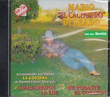 Mario Cachorro delgado Solo para Enamorados Con Banda La Costena CD New Nuevo