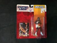 1994 SLU Starting Lineup Laphonso Ellis Figure MOC Denver Nuggets Kenner NBA New