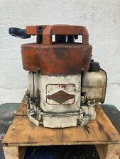 Older 4 Hp Briggs And Stratton Vertical Shaft Lawnmower Rototiller Blower Engine