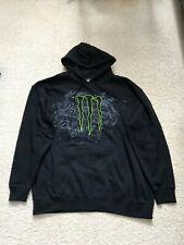 Monster Energy Hoodie Hoody Pullover Sweatshirt Mens XXL 2XL NEW
