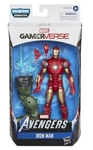 Iron Man Gamerverse Marvel Legends Figure From New Avengers Game
