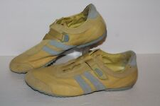 Palladium Casual Shoes, Yellow/Grey, Leather, Womens US 10, EU 41