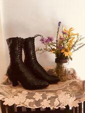 Edwardian Era women's boots