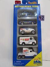 HOT WHEELS 1996 CHOPPER JEEP COMBAT MEDIC BIG RIG  - 5 CAR PACK