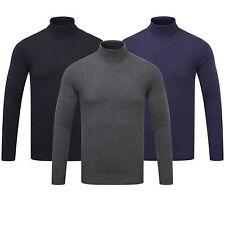 Charles Wilson Men's Roll Neck Soft Knitwear Jumper Sweater Pullover New 2017