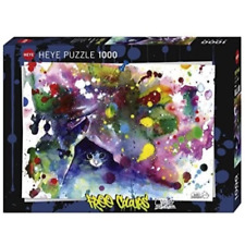 Heye Colours Meow 1000pc Puzzle Hey29825