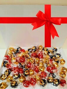 Personalised Sweet Chocolate Gift Box Hamper Lindor Lindt Birthday Luxurious