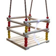 WICKEY Siège de balançoire bébé enfants pour aire de jeux + portique en bois