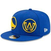 Golden State Warriors New Era Logo Wrap 9FIFTY Adjustable Snapback Hat - Royal