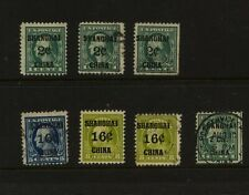 US  Shanghai  stamp lot mint  and  used        MS0628