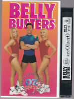 RARE SEALED BELLY BUSTERS - Oz Style Aerobics VHS Video Tape Small Box
